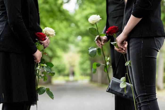 enterrement - Cérémonie