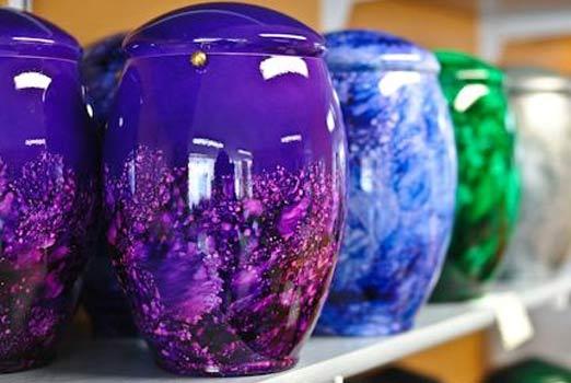 urnes colorées
